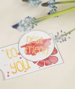 gift tags - bye9design digitalt print - nordic design