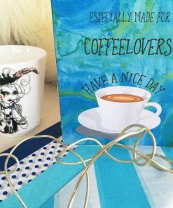 coffee lovers - card - bye9design digitalt print - nordic design