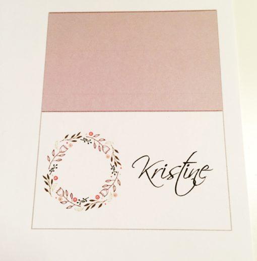 bordkort konfirmasjon - placecard - bye9design digitalt print - nordic design