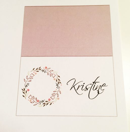 bordkort konfirmasjon - placecard - bye9design digitalt print - nordic design