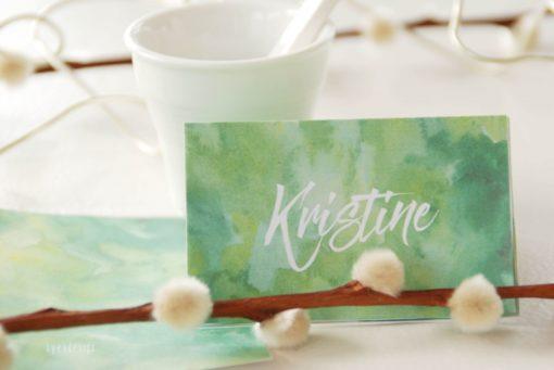Skog bordkort - Aqua bordkort - moes - bordkort konfirmasjon - natur - bordkort konfirmasjon - nordic design - bye9design printshop