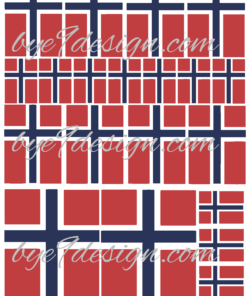 Flagg 3 størrelser