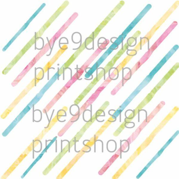 Tutti Frutti Striper - bye9design - nordic design - scrapping