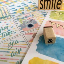 Tutti Frutti - den store juni pakken for kreative - bye9design print