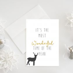 Nordic christmas - digital print - bye9design printshop