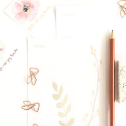 Vårens notatbøker