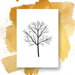 Nordic Forest - 4 print - valgfri størrelse