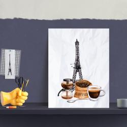 Brasserie France - 4 print -redigerbar størrelse