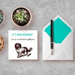 so excited - bursdagskort bye9design