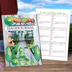 Hagejournal - for hageplanlegging, hagenotater
