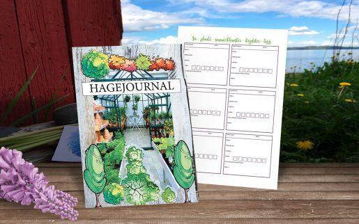 Hagejournal - for hageplanlegging, hagenotater