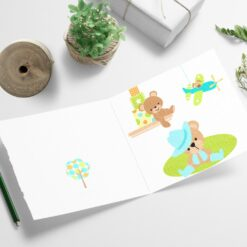 Lekerommet - morsomt barnekort med flotte farger