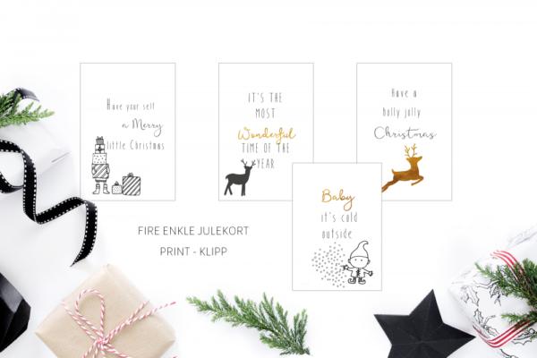 Holly Jolly Christmascard