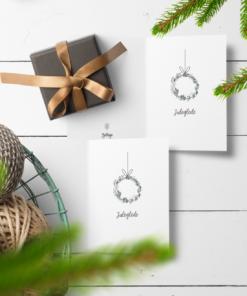 Juleglede - dobbelt kort