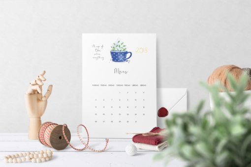 Kalender 2018 - Tedrikkeren