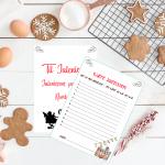 Ønskeliste til julenissen er en koselig tradisjon