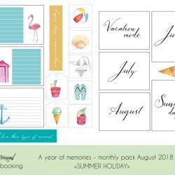 Sett ferieminnene i fotoalbum sammen med journalkortene fra