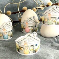 Koselige eggholdere til påske