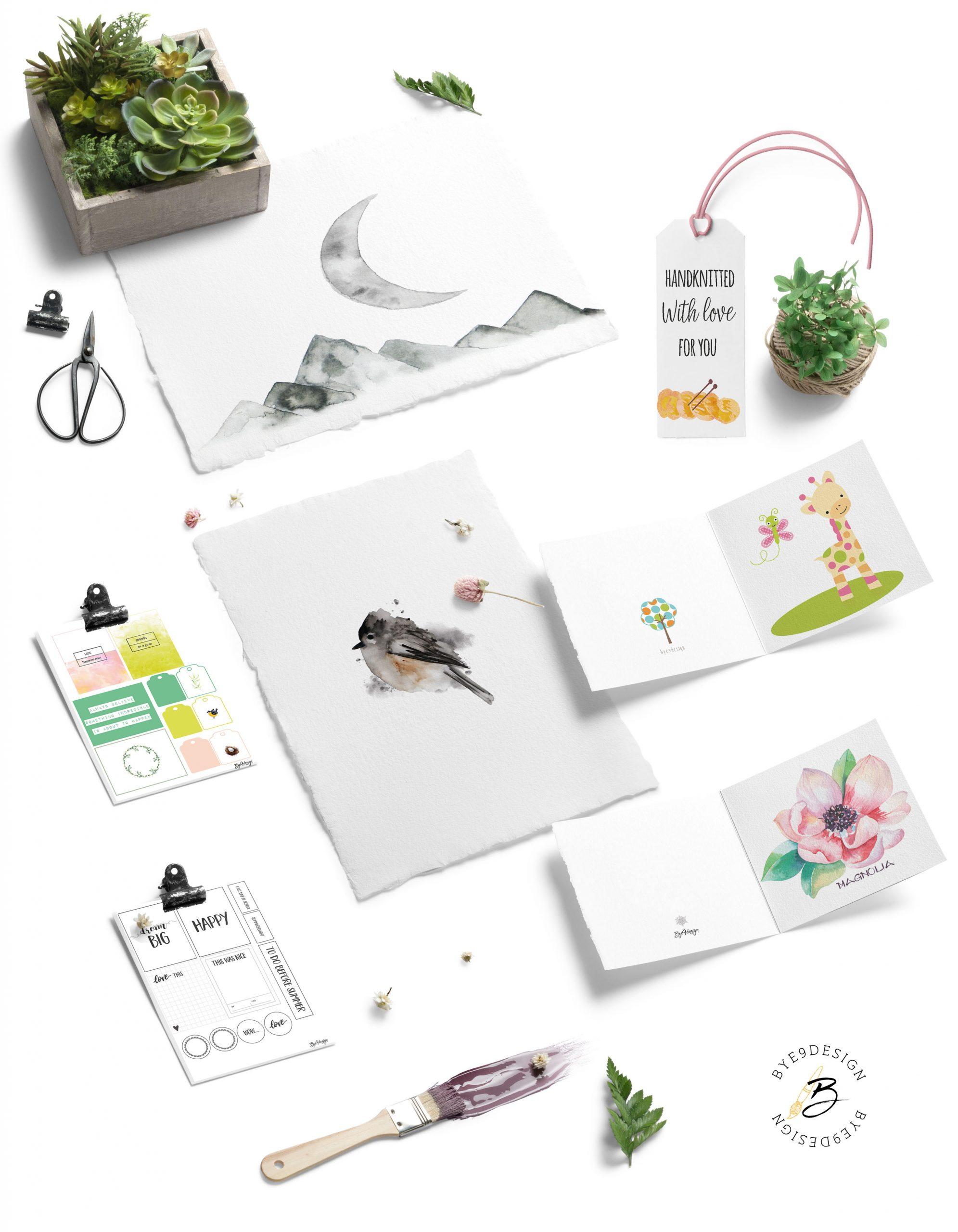 Om Bye9design - hyggelige hobbyprodukter