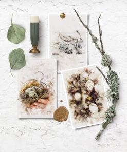Gavelapper med påske og vårmotiv
