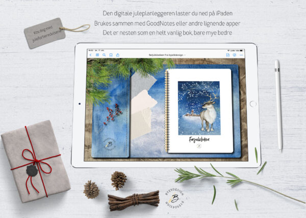 Digital juleplanlegger for iPad - Stressfri førjulstid