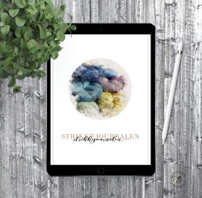 Digital strikkejournal for nettbrett